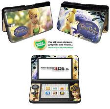 Disney Tinkerbell Vinyl Skin Sticker for Nintendo 3DS XL