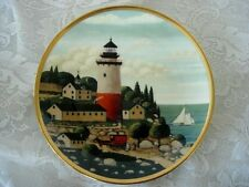 Collectible Royal Doulton Lighthouse Art Plate - Signed H.Wysocki - England