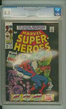 MARVEL SUPER-HEROES SUPER HEROES 14 CGC 8.5 STAN LEE BILL EVERETT MARVEL 1968