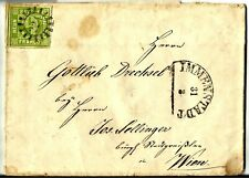 BAYERN, MICHEL #5, 9 KR., NICE LETTER DATED YEAR 1859 FROM IMMENSTADT TO WIEN