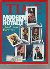 Time Magazine Modern Royalty The Allure Endures May 3 1976