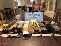 LIONEL POSTWAR #2267W 5 CAR VIRGINIAN 2331 FREIGHT CAR SET- LN