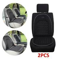 2X Universal Car Van Seat Cushion Orthopaedic Front Seat Cover Protect Back UK