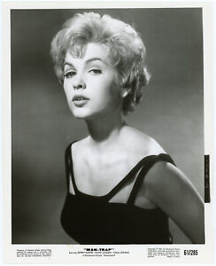 Pouty Blonde Bombshell Stella Stevens Orig. 1961 Man-Trap Production Photograph