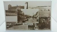 Vintage Postcard Aldwick Village West Sussex Multiview Glossy  Rppc Real Photo