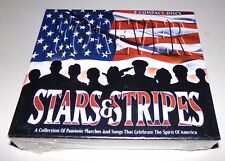 Stars & Stripes Forever 2 CD Set Patriotic Marches & Songs - Brand New Sealed
