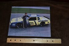 Photo of Dale Earnhardt Sr. (at Daytona?) Wrangler #3 Racecar Picture 7 x 10