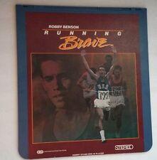 Story of Olympic Gold Runner Billy Mills RUNNING BRAVE Videdodisc Robby Benson