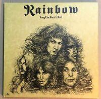 RAINBOW ~ Long Live Rock 'n' Roll ~ UK 1st PRESS POLYDOR EX+/ NEAR MINT LP