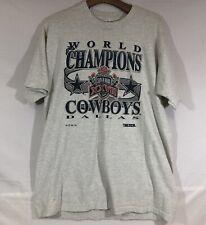 Vintage Dallas Cowboys 1992 Super Bowl champions single stitch Xl