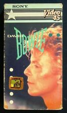 Daid Bowie 1983 Video VHS - Let's Dance, China Girl, Modern Love - plus more