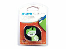 Dymo Letratag Band 12mm -papier Weiß S0721510 Etiketten aus Papier Ersatzminen