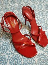 Aldo Red Sexy Heels Shoes Size 7.5