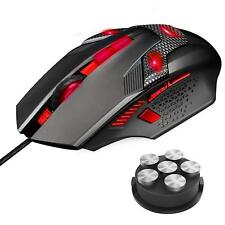 TeckNet RAPTOR Pro 7000 DPI Programmable Gaming Mouse, 8 Programmable buttons