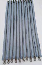 10 x YKK 2 Way Separator Zip / Zipper 45cm Metal size #5 New