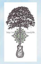 "US Seller- cheap fake tattoos tree of life 8.25"" temporary tattoo"