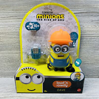 Mattel Minions The Rise of Gru loud 'n rowdy Dave Action And Sound Figure Toy