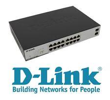 € 74+IVA D-LINK DGS-1100-18 Smart Switch 16xGigabit 2xSFP Gbe