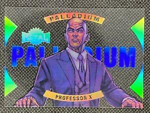 2021 Upper Deck Marvel X-Men Metal Universe Professor X Palladium Acetate #35