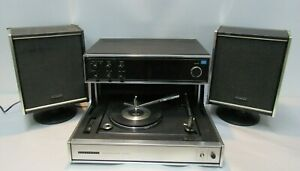 VINTAGE PANASONIC SE-970 AM/FM MULTIPLEX STEREO RECORD PLAYER TURNTABLE JAPAN CO