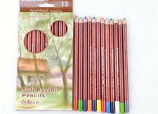 12 Colors Soft Pastel Pencils Colored Pencils Pastel Pencils Art Drawing Sketch