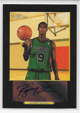 2006 06 TOPPS TURKEY RED RAJON RONDO BLACK BORDER ROOKIE AUTO SIGNATURE 6/10