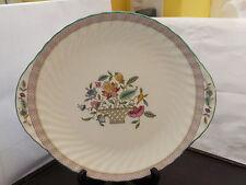 TWIN-maneggiata torta/pane Piastra in Minton HADDON HALL Traliccio Pattern