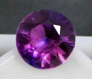 Natural Certified Round Shape 6 Ct Purple Pink Taaffeite Loose Gemstone
