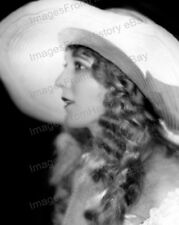 8x10 Print Mary Pickford Beautiful Profile Portrait #AF052