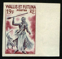 FRANCE WALLIS and FUTUNA stamp imperforate MNH