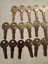 Kaba Ilco 01122-Y11 Key Blank,Brass,Type Y11,5 Pin,Pk17