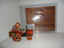 Marx 1920s Windup College Crazy Car & Flappers (with original box)
