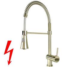 Spirale Edelstahl Küchenarmatur Niederdruck Wasserhahn für Küche Armatur Brause