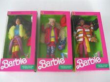 United Colors of Benetton Barbie-Kira-Christie Dolls 1990-Sealed-New