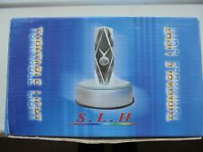 """Turntable light display 3"""" diam- Silver colour New"""