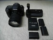 Canon EOS 90D 32.5MP 4K UHD DSLR Camera With 18-135mm Lens - Black