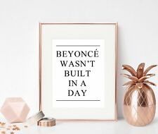 Inspirational Quote Print Office Wall Art Gift For Her Girl Female Motivational