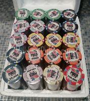 500 WSOP Ceramic Poker Chips