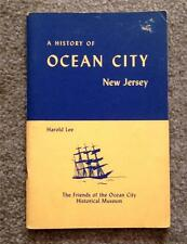 RARE 1965 1ST ED HISTORY OCEAN CITY NEW JERSEY VINTAGE PHOTOS FREE SHIPPING