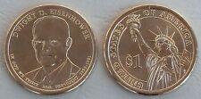 USA Präsidentendollar 2015 Dwight D. Eisenhower D unz.