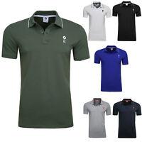 JACK & JONES Herren Business Poloshirt Kurzarmshirt Polo T Shirt versch Farben