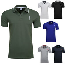 JACK & JONES Herren Business Poloshirt Kurzarmshirt Polo T Shirt versch Farben