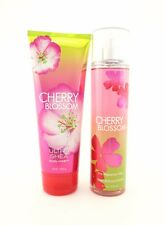 Bath Body Works Cherry Blossom Fragrance Mist + Ultra Shea Body Cream 8oz Lotion