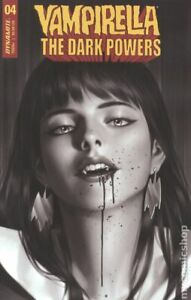 Vampirella The Dark Powers #4O Jung B&W 1:30 Variant VG 2021 Stock Image