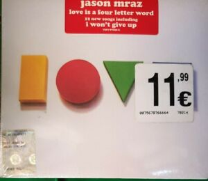 JASON MRAZ - Love is a four letter word - CD new