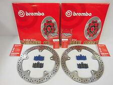 Brembo Bremsscheiben vorne + Bremsbeläge BMW R 1100 S 1150 RT R 1200 ST