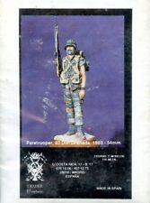 Taxdir Miniature 1:32 54mm Paratrooper 82 Div Grenada 1983 Metal Kit #TAX-F/2