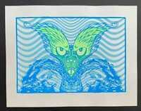 Psycho Monkey Art Print Lindsey Kuhn S/N Variant