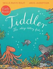 Early Reader Tiddler The Story-telling Fish by Julia Donaldson NEW (P/B 2012)
