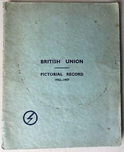 Oswald Mosley Fascist. B.U. Pictorial Record photo book 1937